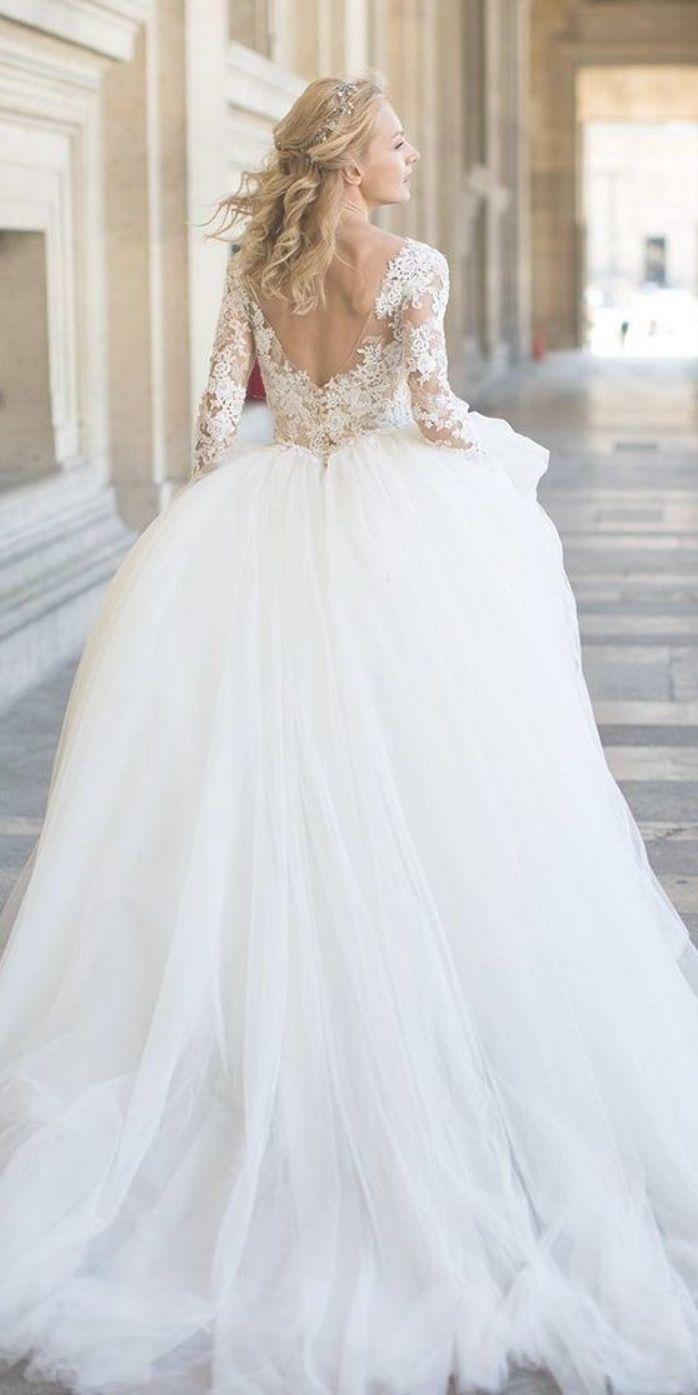 Pin By Harmoni On Cinderella Wedding Dresse Princess Wedding Dresses Wedding Dresses Cinderella Wedding Dresses Lace [ 1395 x 698 Pixel ]