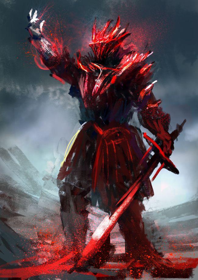 Blood Armour by Mac-ti...