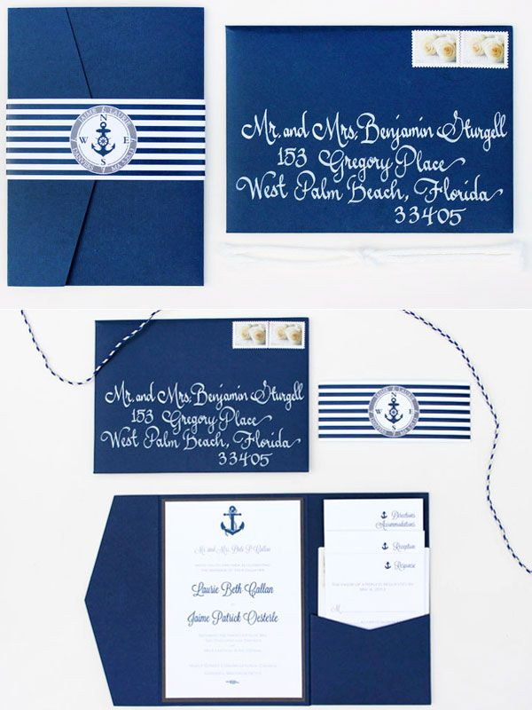 Nautical Style Wedding Ideas for Wedding 2014