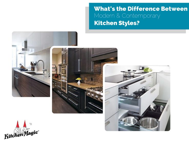 What\'s the Difference Between Modern and Contemporary Kitchen ...