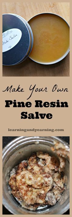 Pine resin is produced when a tree needs healing and protection. It can be collected and used for our healing as well. Just be sure to leave plenty behind for the tree.