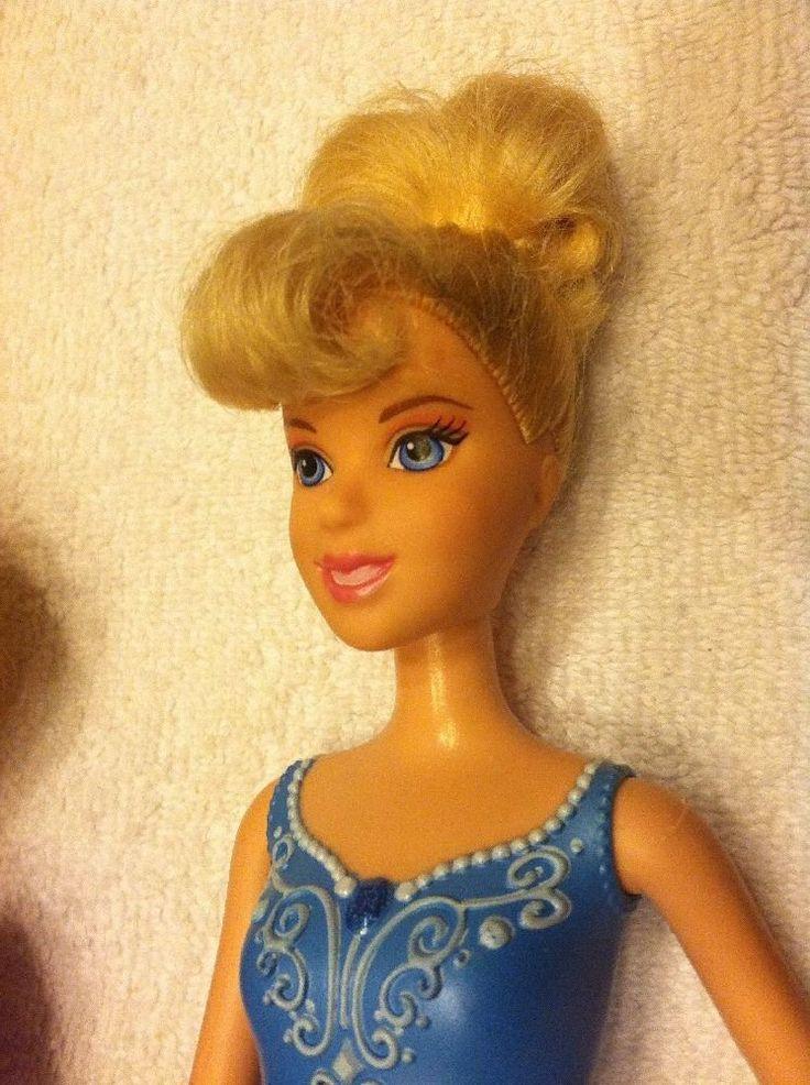Disney Princezna Barbie Panenky Lot Ariel Popelka Belle Tiana Rapunzel | eBay