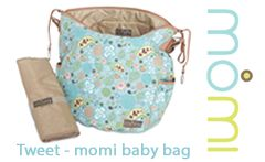 Spacious nappy bag with matching changing mat - perfect for everyday use!