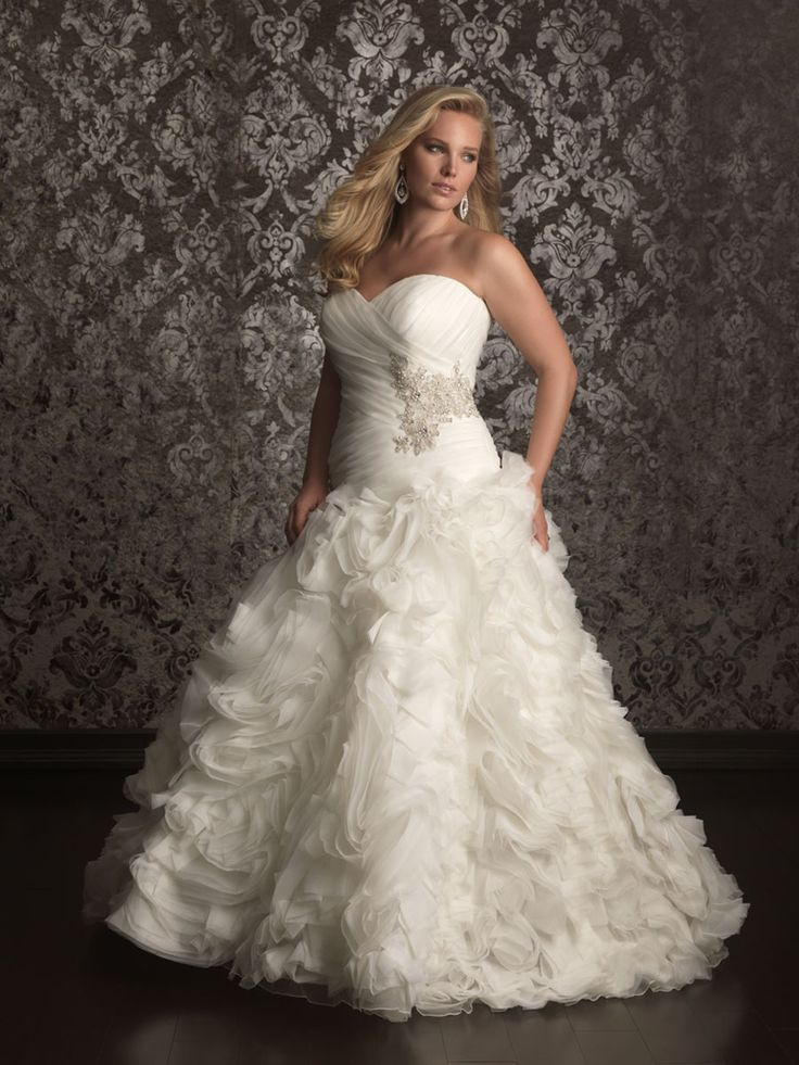 136 best Plus size Wedding Dresses images on Pinterest