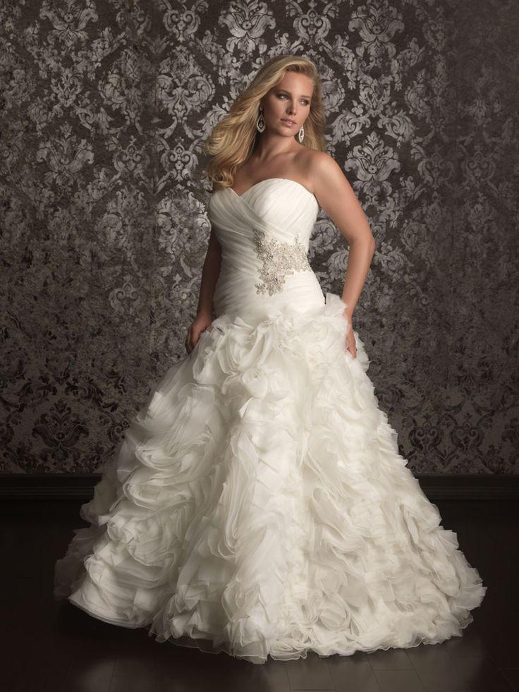 136 Best Plus Size Wedding Dresses Images On Pinterest Wedding