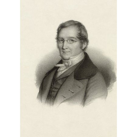 Joseph Louis Gay-Lussac 1778 1850 French Chemist And Physicist From A 19Th Century Print Canvas Art - Ken Welsh Design Pics (12 x 17)