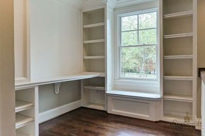 built ins around window cheaper bottom finish than cabinets dining furniture makeover on kitchen cabinets around window id=20832