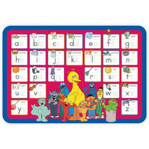 Sesame Street Alphabet Placemat