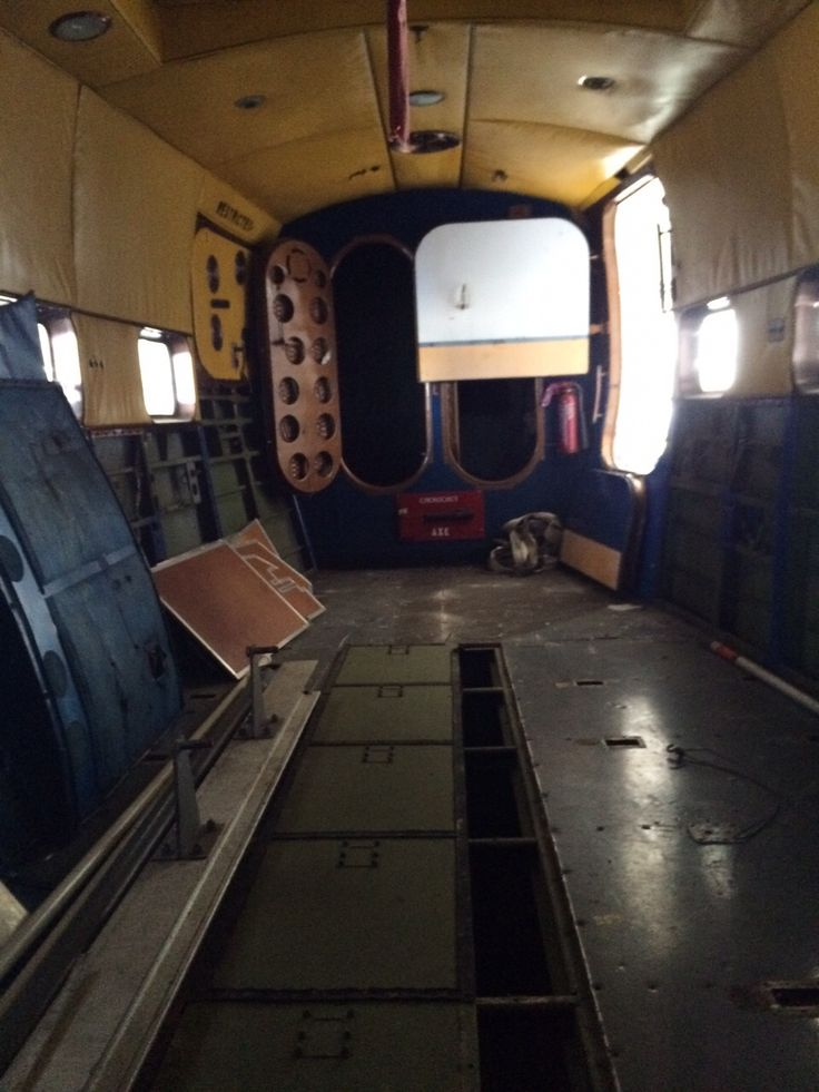 Interior Stripped Down To Access Watertight Compartments