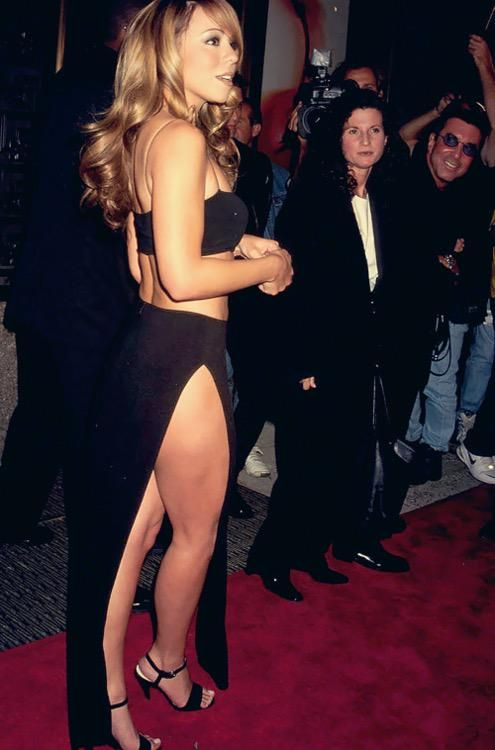 A young Mariah Carey
