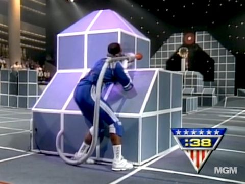 American Gladiators! Always dreamed of being on this show and kicking that Eliminator's booty!