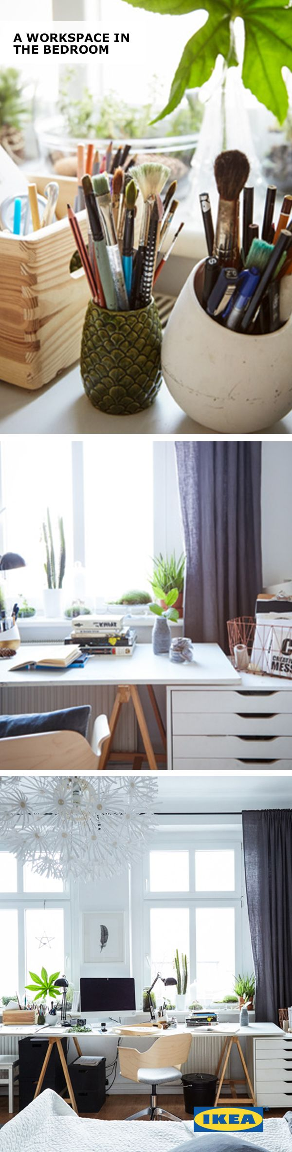 And black and white means your home office style is longer lasting - Dreaming Of Working From Home But Out Of Space A Home Office Doesn