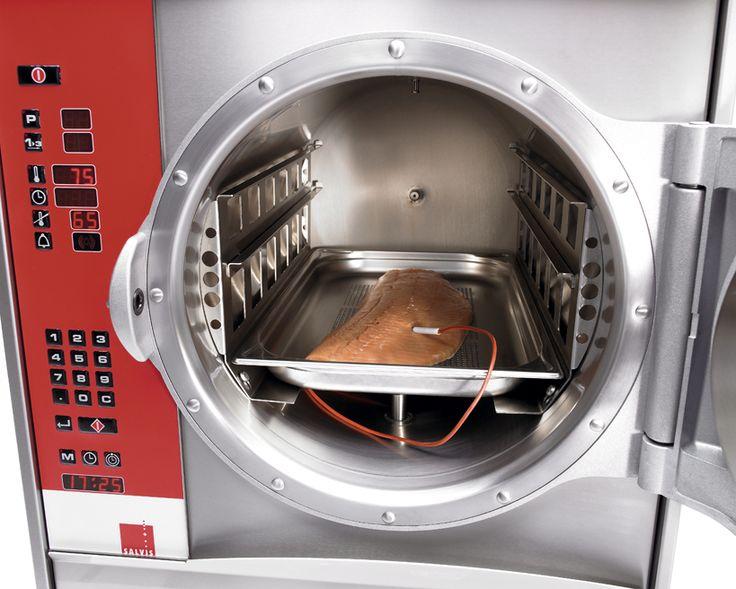Druck-Steamer auf Wunsch mit Kerntemperaturfühler