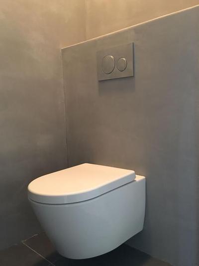 Bekijk de foto van BetonCireCentrum met als titel Toilet voorzien van Beton Cire door Beton Cire Centrum. Met showroom Den Haag. Zaterdags open van 11:00 - 15:00 uur. Voor bezichtiging kijk op onze website betoncirecentrum of bel 06-5339224 Of 0653717725 en andere inspirerende plaatjes op Welke.nl.