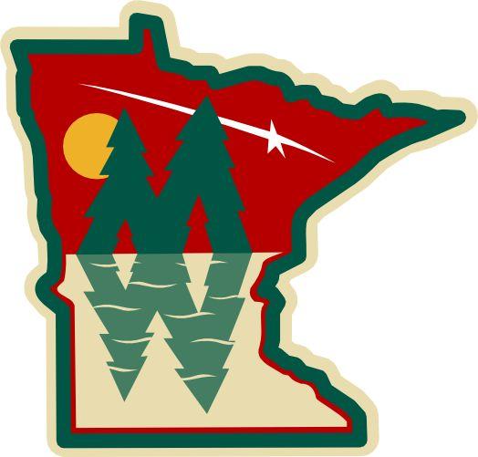 218 best images about hockey on pinterest mike modano - Minnesota wild logo ...
