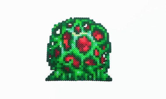 Super Metroid perler enemigo grano sprite por ReturnersHideout