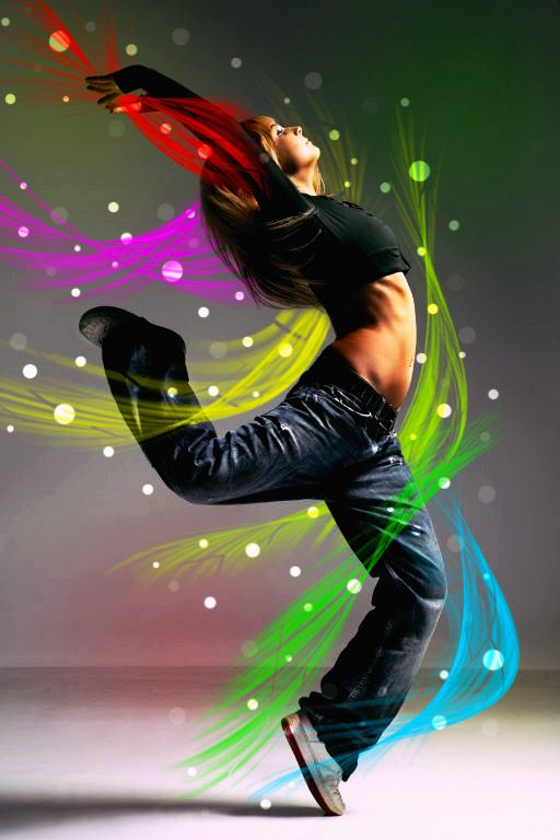 street dancer inspration art by mu6.deviantart.com-- Dancing lets loose the joy inside!