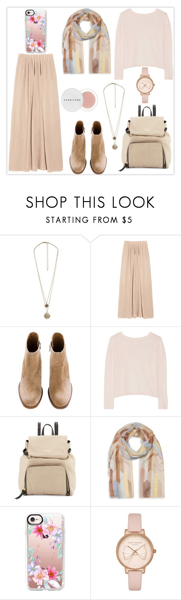 """P a s t e l"" by haranata ❤ liked on Polyvore featuring Forever 21, See by Chloé, Banjo & Matilda, Kate Spade, Laura Ashley, Casetify, Ted Baker, Herbivore, Fall and pastel"