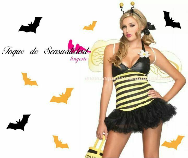 Disfraz de abeja encuéntralo en www.toquedesensualidad.com/halloween2017