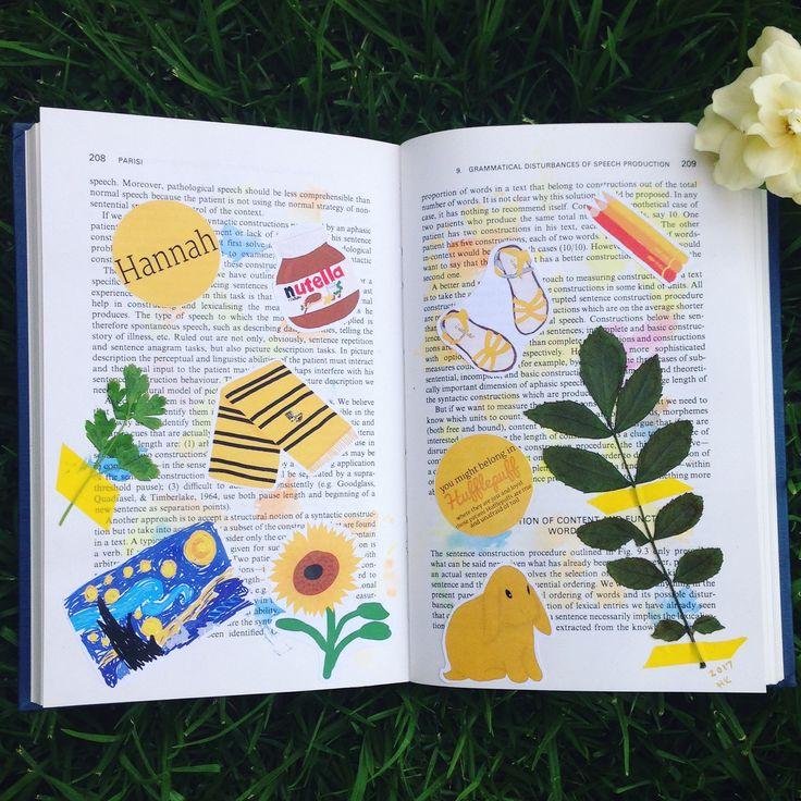 'My yellow aesthetic' @honnohk