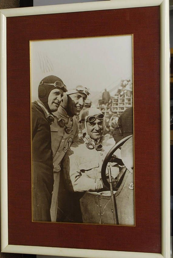 1916 Indianapolis 500 Photographic Picture - Dario Resta Eddie Rickenbacker Indy Car History Indy 500 Indy 300 Greatest Spectacle in Racing