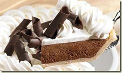 The Perkins Chocolate French Silk cream pie