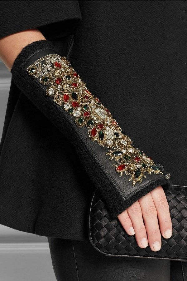 Стильные женские перчатки 2018-2019 года: тенденции ...
