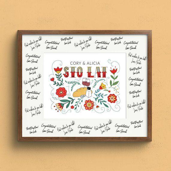"Top 100 Wedding Gifts: 8""x10"" Polish Wedding Blessing Print"