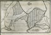 Plano de la Población y término de la Colonia de Fuente Palmera en el siglo XVIII. Fondo Rafael Bernier Soldevilla