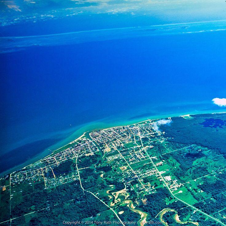 #Dangriga, #BelizeBarrierReef, and #GloversReef in a single photo, #Belize