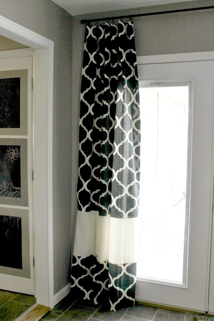 ... Curtain Length on Pinterest | Window Curtains ... - bedroom curtain