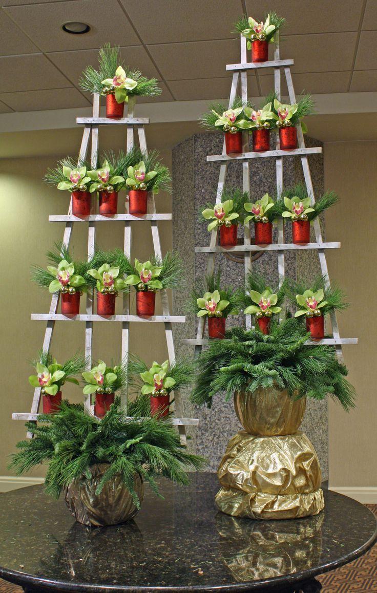13 best Holiday Floral Arrangements images on Pinterest | Flower ...