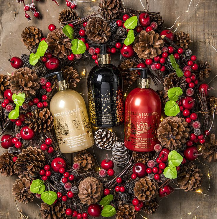 Add a festive flourish to your kitchen and bathroom with these sparkling stylish Christmas hand washes.