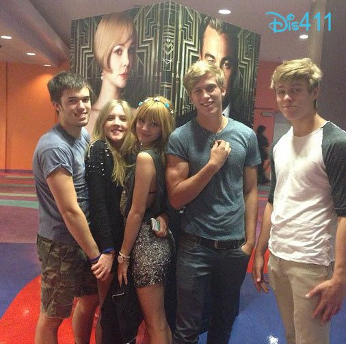 "Bella Thorne Watched ""The Great Gatsby"" With Tristan Klier And More"