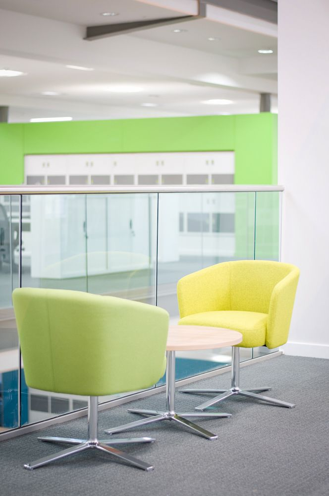 City Of York Council Workspace Design Soft Seating Furniture