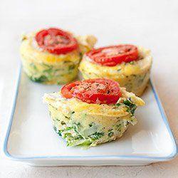 Muffiny jajeczne z cukinią | Kwestia Smaku
