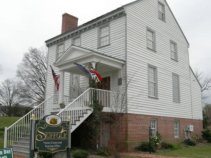 Prentis House   Suffolk, Virginia  1805