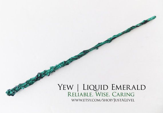 Emerald Vine Fiction Inspired Wand Personality Trait by JustALevel