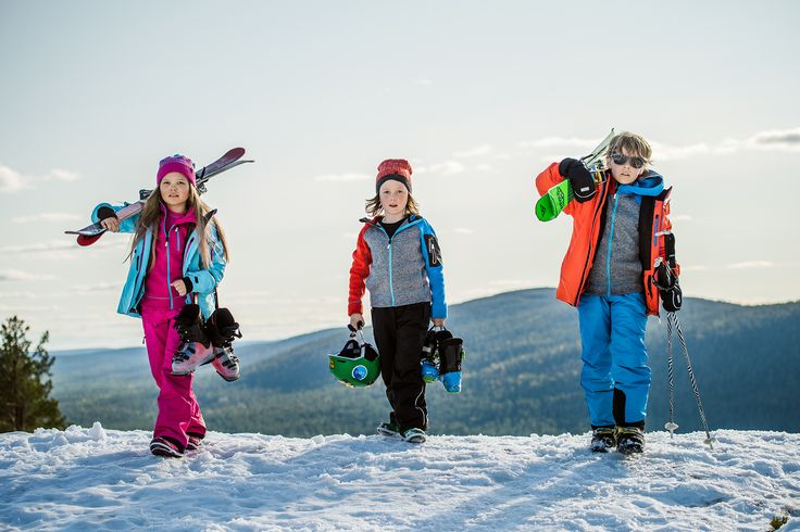 ReimaGO winter clothes are perfect for skiing. Join our mission to #makekidsmove