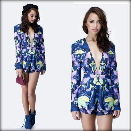 【Finders Keepers】即発送★Next In Line Playsuit