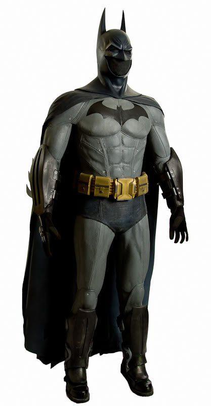 Amazingly detailed Arkham City Batman suit.