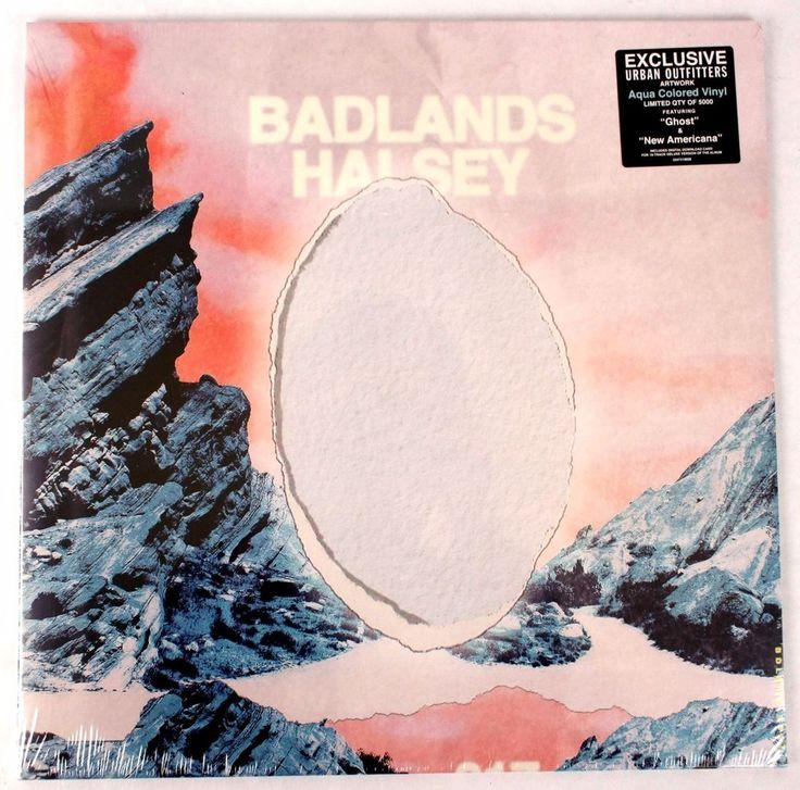 Halsey Badlands RARE Aqua Blue VINYL LP RECORD w/ Download NEW Urban Outfitters