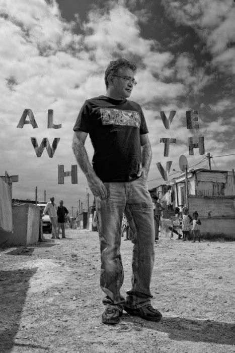 Zackie Achmat in21 Icons: Portrait of a Nation, at Museum of African Design, June 16 – Aug 17, 2014 #art #photography #portraits #southafrica