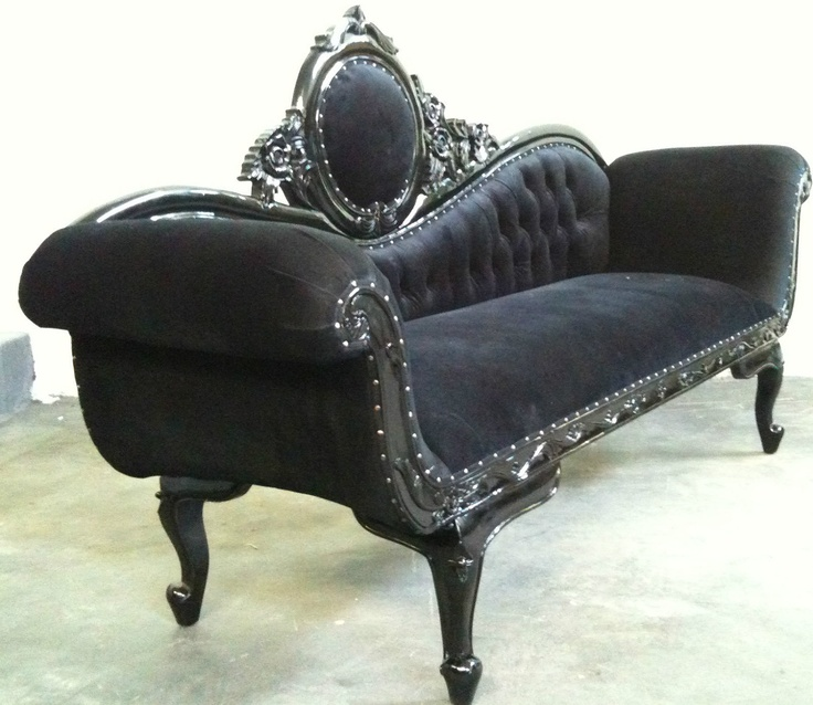1003 best vintage furniture love images on pinterest for Accent chaise lounge