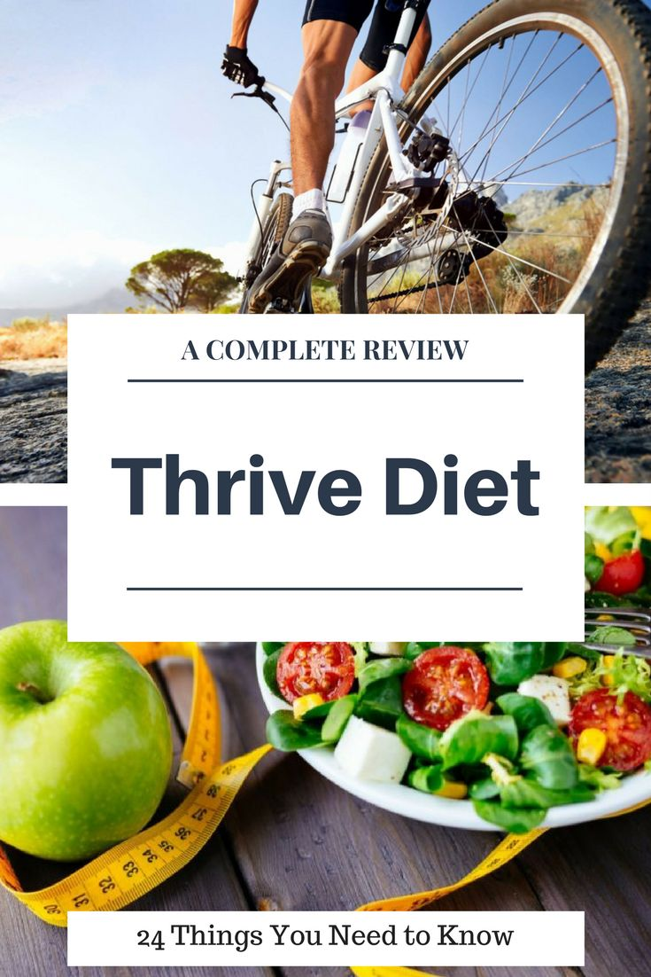 You're about to learn everything you need to know about The Thrive Diet.