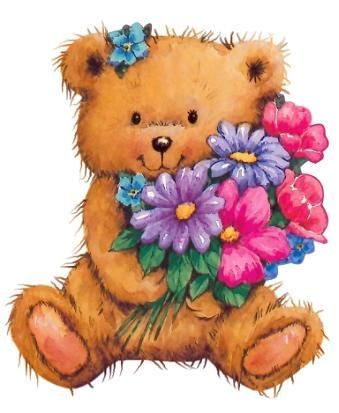 251 best images about teddy bear tags and printables on ...
