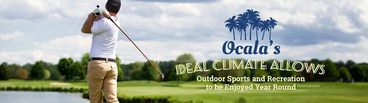 We don't really have to sell prospective home buyers on this area because it sells itself. Ocala is a great place to live. Here are five of the reasons why, including year-round recreation opportunities. #ocala #realestate