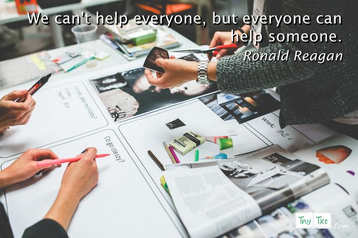 We can't help everyone, but everyone can help someone. - Ronald Reagan #tnytxt #quotes #quoteoftheday