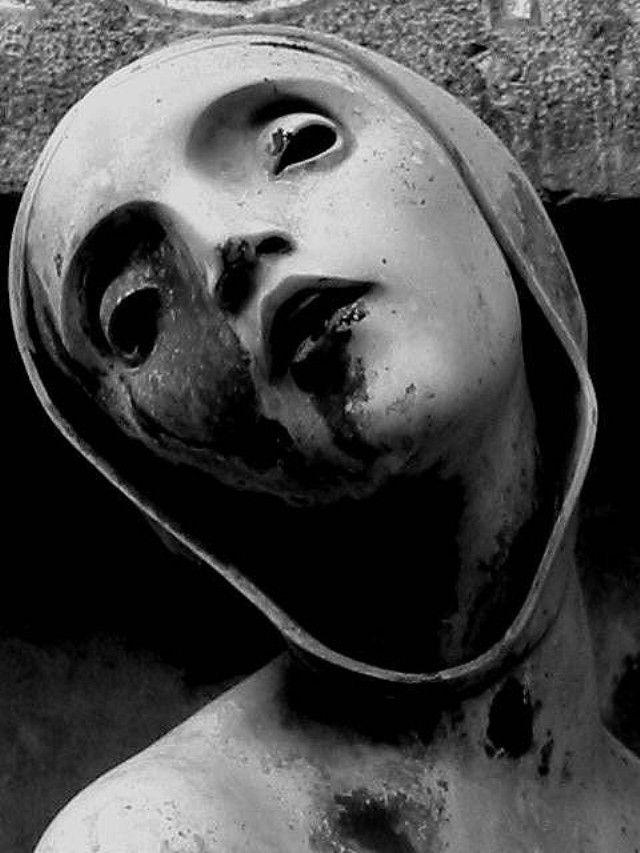 Sculpture by Adolfo Wildt (1868-1931).