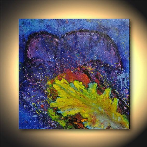 Abstract Art originale astratta pittura arte di Daylightartgallery
